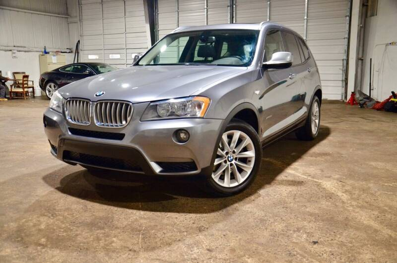 2014 BMW X3 for sale at Marietta Auto Mall Center in Marietta GA