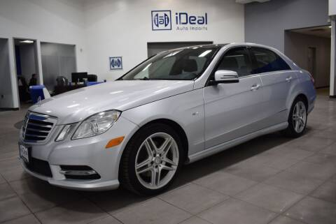2012 Mercedes-Benz E-Class for sale at iDeal Auto Imports in Eden Prairie MN
