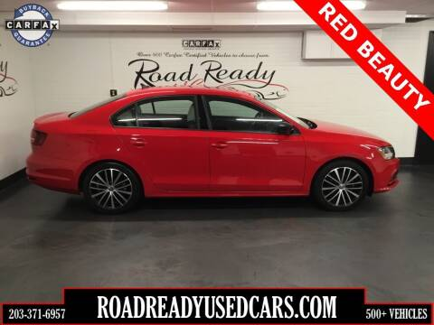 2017 Volkswagen Jetta for sale at Road Ready Used Cars in Ansonia CT