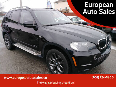 2011 BMW X5 for sale at European Auto Sales in Bridgeview IL
