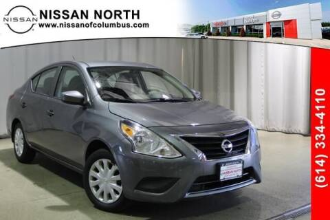 2016 Nissan Versa for sale at Auto Center of Columbus in Columbus OH