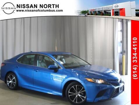 2019 Toyota Camry Hybrid for sale at Auto Center of Columbus in Columbus OH