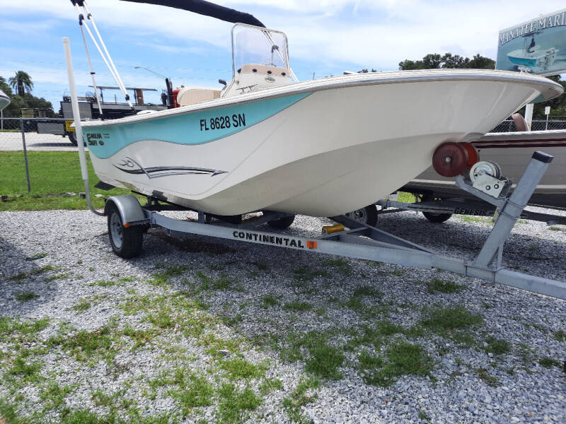 2018 Carolina Skiff 178 DLV Center Console for sale at Boats And Cars in Palmetto FL