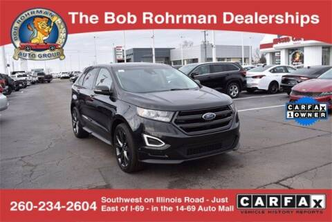 2015 Ford Edge for sale at BOB ROHRMAN FORT WAYNE TOYOTA in Fort Wayne IN