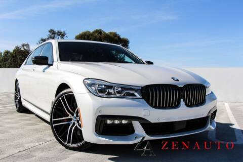 2018 BMW 7 Series for sale at Zen Auto Sales in Sacramento CA