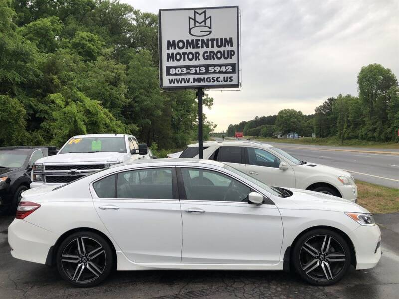 2017 Honda Accord for sale at Momentum Motor Group in Lancaster SC