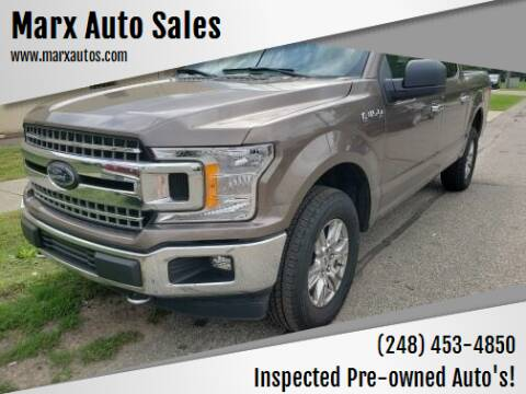 2018 Ford F-150 for sale at Marx Auto Sales in Livonia MI
