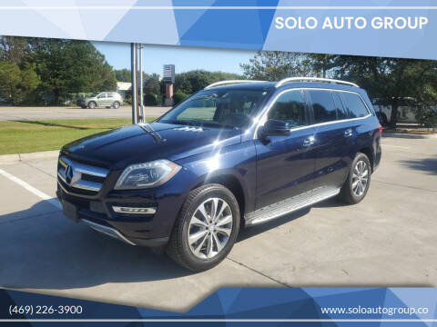 2014 Mercedes-Benz GL-Class for sale at Solo Auto Group in Mckinney TX