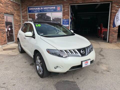 2010 Nissan Murano for sale at Michaels Motor Sales INC in Lawrence MA