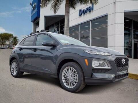 2021 Hyundai Kona for sale at DORAL HYUNDAI in Doral FL