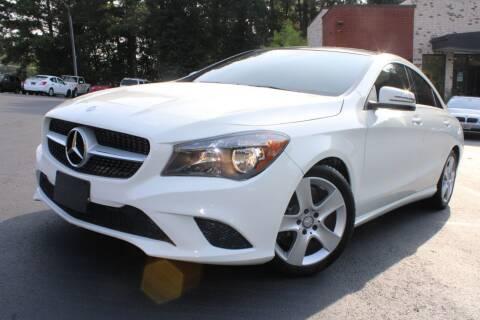 2016 Mercedes-Benz CLA for sale at Atlanta Unique Auto Sales in Norcross GA