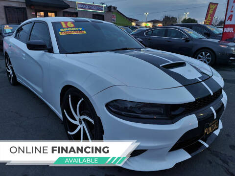 2016 Dodge Charger for sale at Super Cars Sales Inc #1 - Super Auto Sales Inc #2 in Modesto CA
