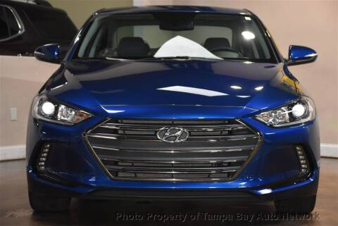 2018 Hyundai Elantra for sale at Tampa Bay AutoNetwork in Tampa FL