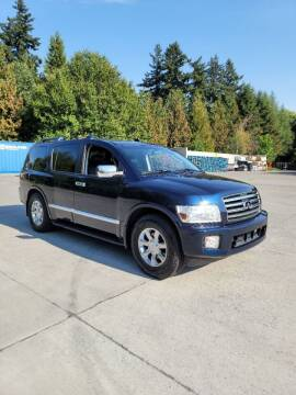 2007 Infiniti QX56 for sale at RICKIES AUTO, LLC. in Portland OR