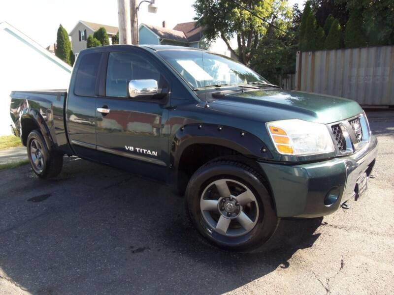 2005 Nissan Titan for sale at Fulmer Auto Cycle Sales - Fulmer Auto Sales in Easton PA