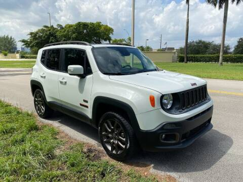 2016 Jeep Renegade for sale at Nation Autos Miami in Hialeah FL