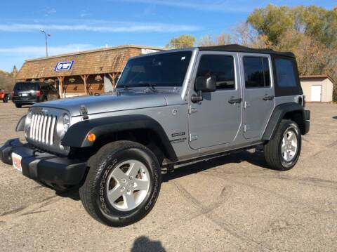 2016 Jeep Wrangler Unlimited for sale at MOTORS N MORE in Brainerd MN