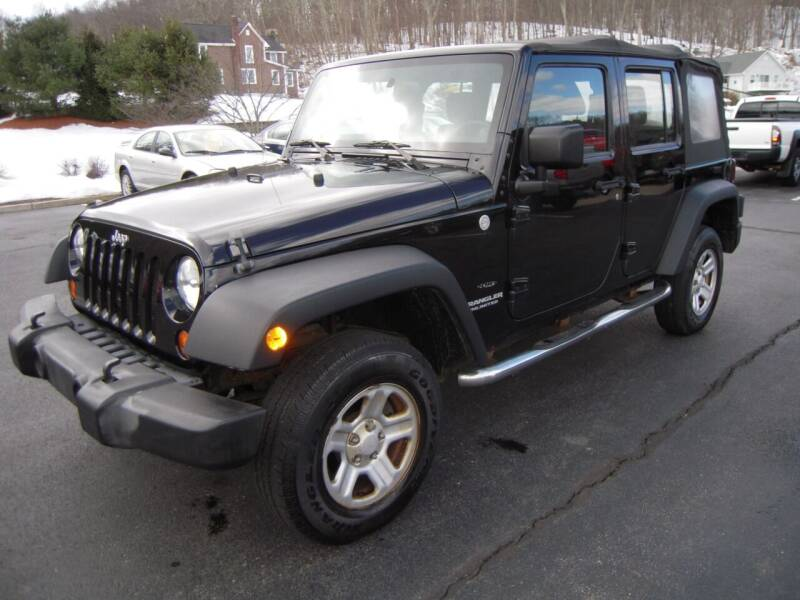 2011 Jeep Wrangler Unlimited for sale at 1-2-3 AUTO SALES, LLC in Branchville NJ