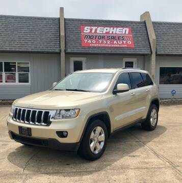 2011 Jeep Grand Cherokee for sale at Stephen Motor Sales LLC in Caldwell OH