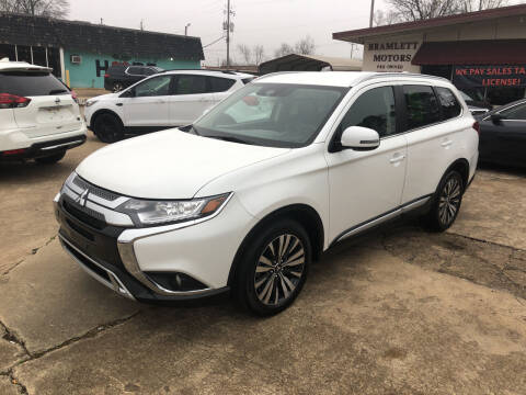 2020 Mitsubishi Outlander for sale at BRAMLETT MOTORS in Hope AR