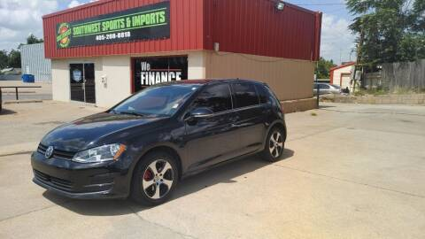 2017 Volkswagen Golf for sale at Southwest Sports & Imports in Oklahoma City OK