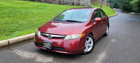2007 Honda Civic for sale at ENVY MOTORS LLC in Paterson NJ