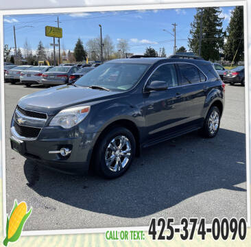 2010 Chevrolet Equinox for sale at Corn Motors in Everett WA