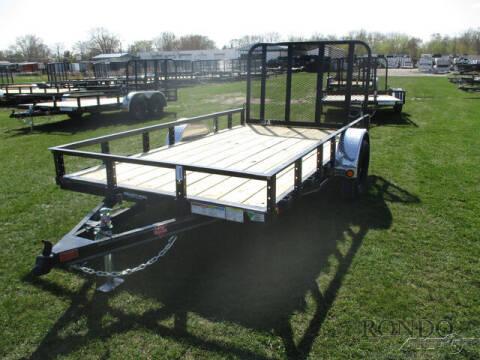2021 PJ Trailer U7 Single Axle Utility U721231 for sale at Rondo Truck & Trailer in Sycamore IL