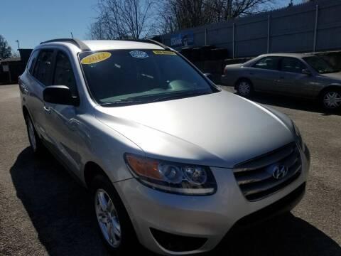 2012 Hyundai Santa Fe for sale at Fortier's Auto Sales & Svc in Fall River MA