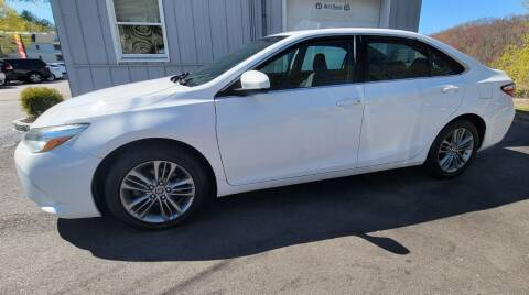 2016 Toyota Camry for sale at Route 44 Auto Sales in Greenville RI