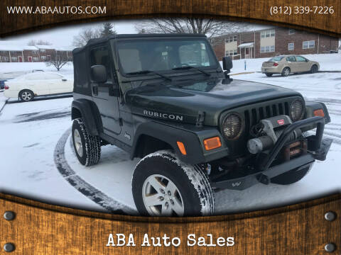 2006 Jeep Wrangler for sale at ABA Auto Sales in Bloomington IN