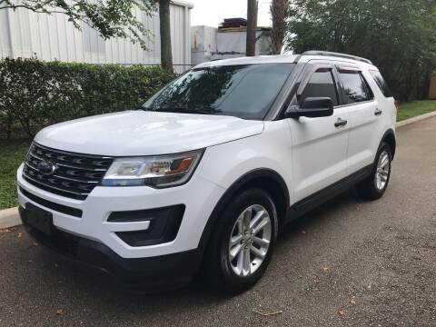 2016 Ford Explorer for sale at DENMARK AUTO BROKERS in Riviera Beach FL