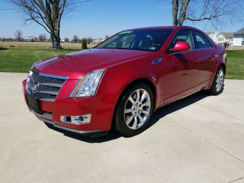 2008 Cadillac CTS for sale at CALDERONE CAR & TRUCK in Whiteland IN