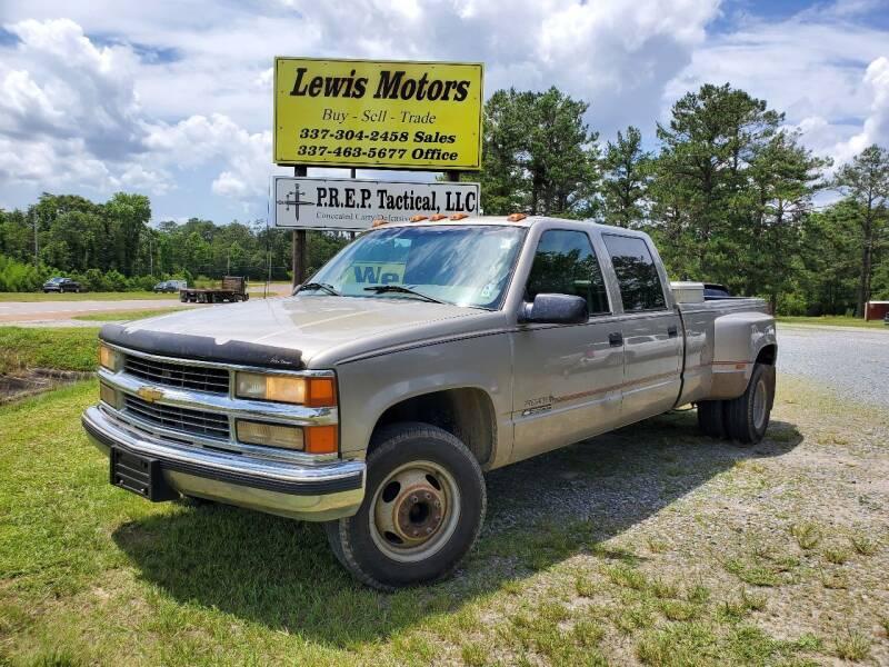 1998 Chevrolet C/K 3500 Series for sale at Lewis Motors LLC in Deridder LA