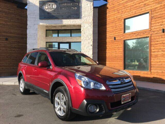 2014 Subaru Outback for sale at Hamilton Motors in Lehi UT