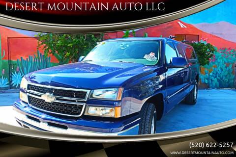 2006 Chevrolet Silverado 1500 for sale at DESERT MOUNTAIN AUTO LLC in Tucson AZ