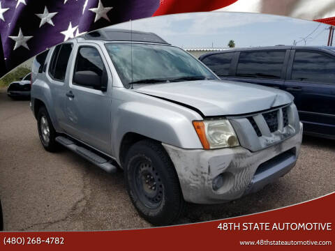 2007 Nissan Xterra for sale at 48TH STATE AUTOMOTIVE in Mesa AZ