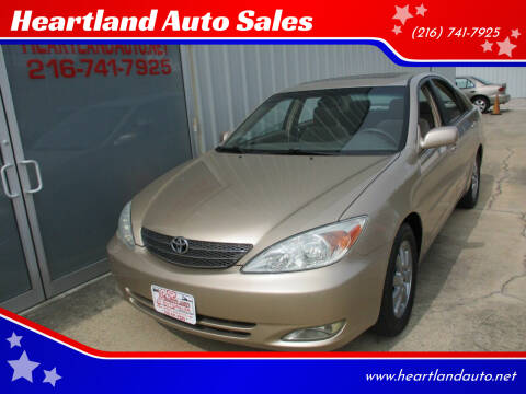 2003 Toyota Camry for sale at Heartland Auto Sales in Medina OH