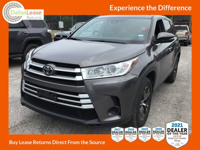 2019 Toyota Highlander for sale in Dallas, TX