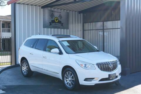 2016 Buick Enclave for sale at G MOTORS in Houston TX