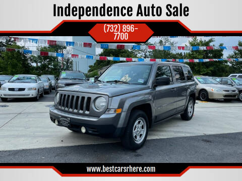2012 Jeep Patriot for sale at Independence Auto Sale in Bordentown NJ