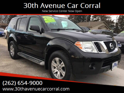 2010 Nissan Pathfinder for sale at 30th Avenue Car Corral in Kenosha WI