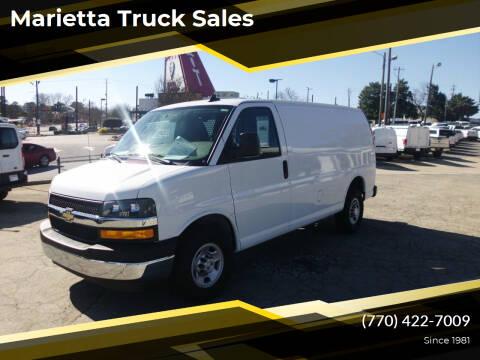 2019 Chevrolet Express Cargo for sale at Marietta Truck Sales in Marietta GA