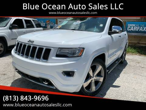 2014 Jeep Grand Cherokee for sale at Blue Ocean Auto Sales LLC in Tampa FL
