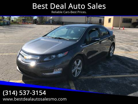 2013 Chevrolet Volt for sale at Best Deal Auto Sales in Saint Charles MO