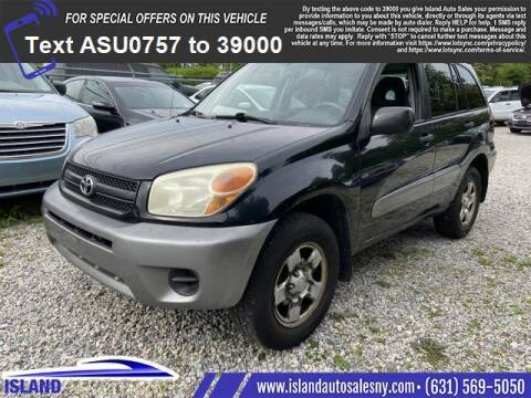 2005 Toyota RAV4 for sale at Island Auto Sales in East Patchogue NY