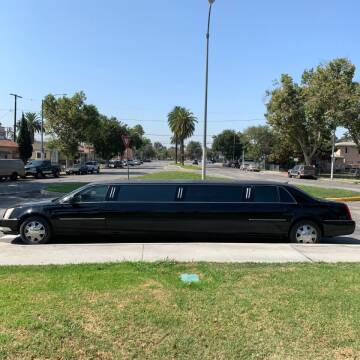 2007 Cadillac DTS for sale at American Limousine Sales in Los Angeles CA