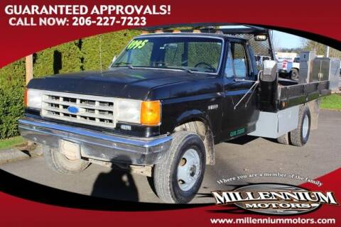 1989 Ford F-450 for sale at MILLENNIUM MOTORS INC in Monroe WA