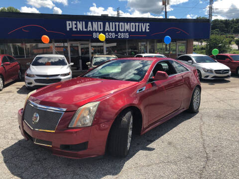 2011 Cadillac CTS for sale at Penland Automotive Group in Laurens SC