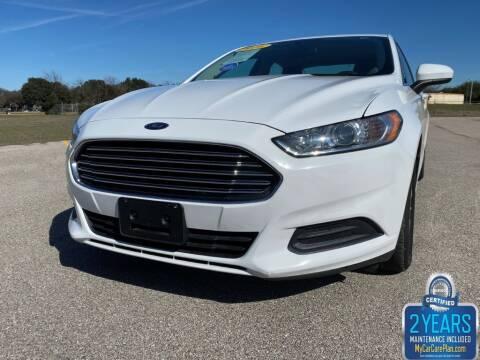 2016 Ford Fusion for sale at Destin Motors in Plano TX